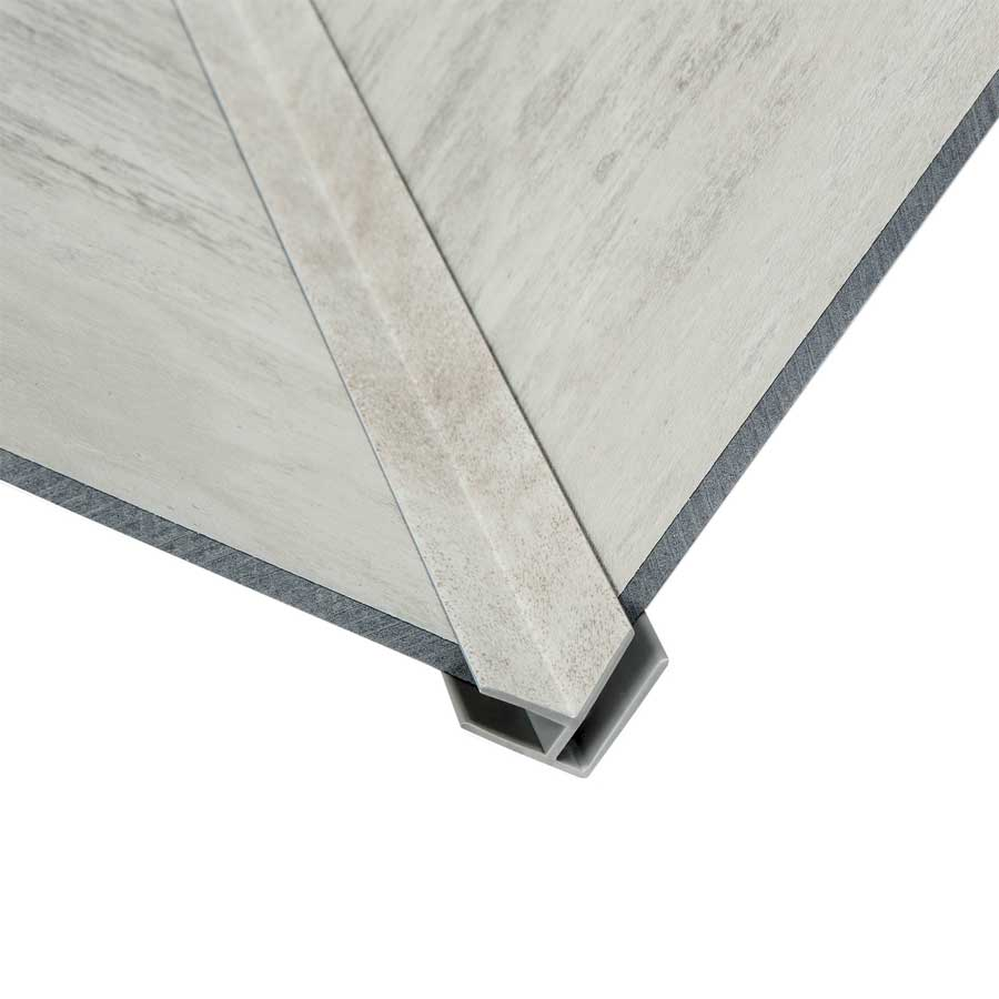 Wind Gust Panel with matching inside corner trim