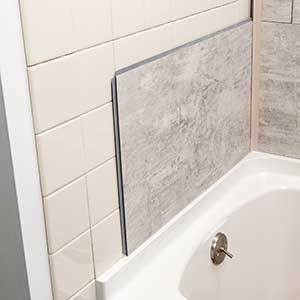 install over existing tile