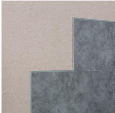 Installs over wallpaper